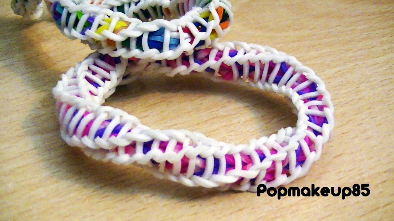 Come Fare Loom Bands Spiral Bracelet Spirilla Tutorial