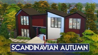 Sims 4   House Building   Scandinavian Autumn (seasons Expansion Pack)