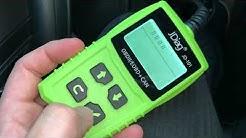JDiag OBD2 Auto-Diagnosegerät OBD Auto-Code-Scanner-Fahrzeug-Fehlercodeleser PKW auslesen Anleitung