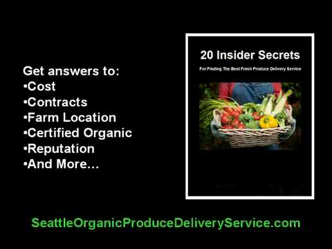 Seattle Organic Produce Delivery Service