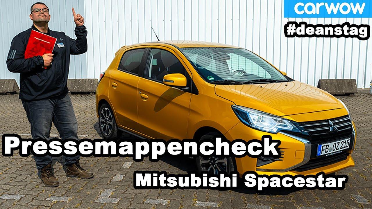 Was steckt hinter den Marketingsprüchen? - der gnadenlose Pressemappencheck zum Mitsubishi Spacestar