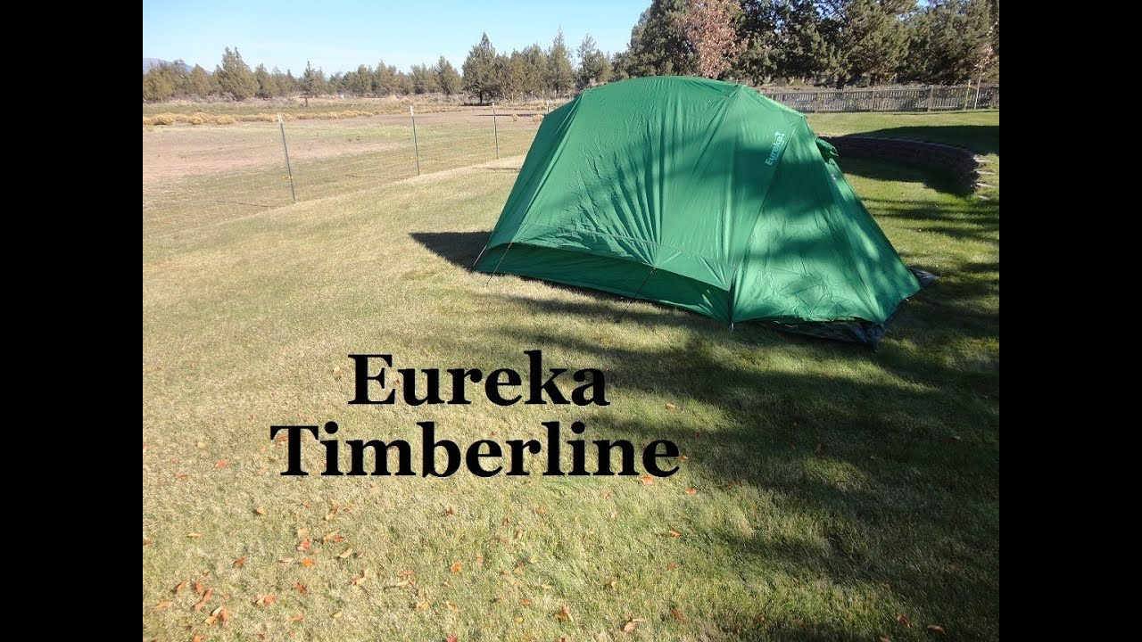 & The Eureka Timberline 4 Tent - YouTube