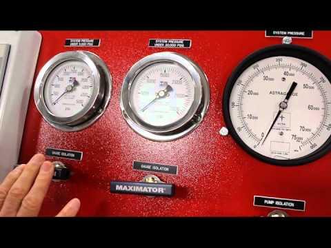 Pressure Testing Bench Demo