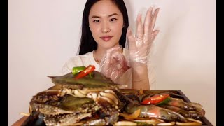 Soy Sauce Marinated Raw Crab a…