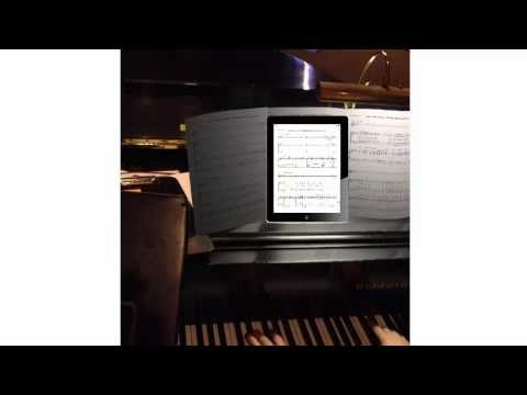 How to scan music scores, save them in PDF with your iPad & Genius Scan  for performances. (Part 1)
