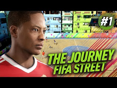 FIFA 18 THE JOURNEY BULGARIA #1 - Играем FIFA STREET! МНОГО ЯКО!  НОВО НАЧАЛО С Алекс Хънтър!