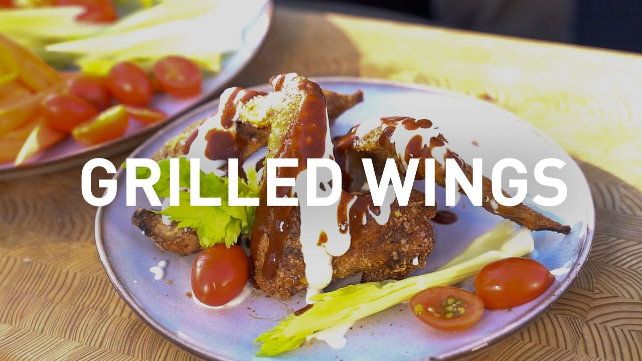 CHEF AF Grilled Chicken Wings