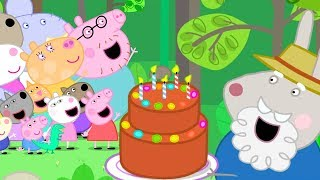 Peppa Pig Official Channel   Celebrating Freddy Fox's Birthday with Peppa Pig