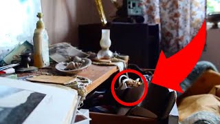 Real Life ABANDONED TIME CAPSULE House ( FOUND Gold, Teeth & MORE !! )