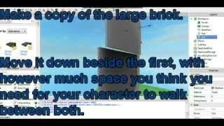 Roblox - Cómo hacer un side-scroller
