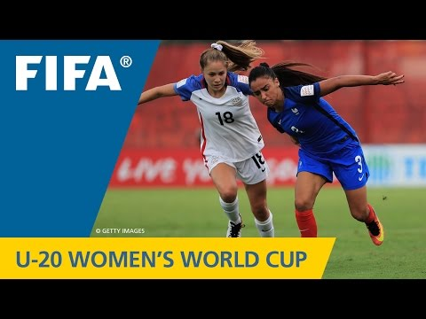 MATCH 5: FRANCE v USA - FIFA Women's U20 Papua New Guinea 2016