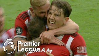 Sander Berge's first Blades goal puts Sheffield United ahead of Spurs   Premier League   NBC Sports