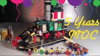 Lego Ninjago Chen's Steamboat MOC 5 Year Anniversary