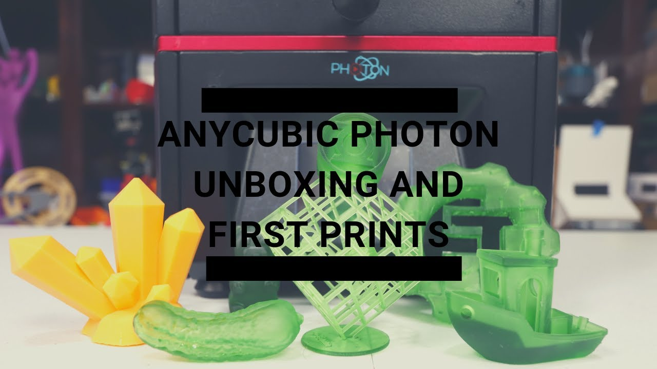 Repeat Anycubic Photon Unboxing and First Print by Fugatech