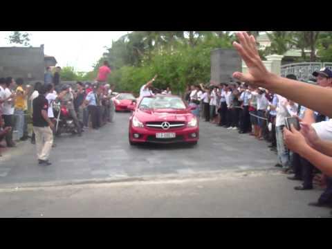 C&P Siêu xe xuất phát đi dạo từ resort Maya - Đà Nẵng