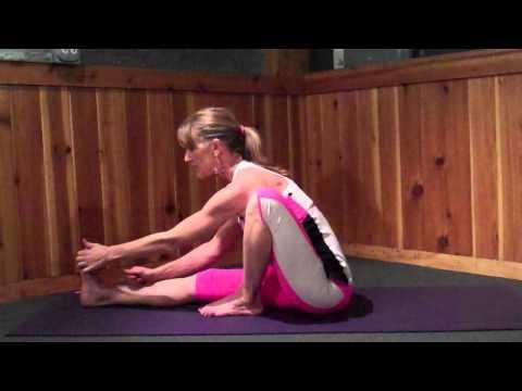 Yoga Pose Marichyasana I & 2