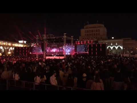 Саммит Франкофонии, Ереван, гала-концерт, 11 октября