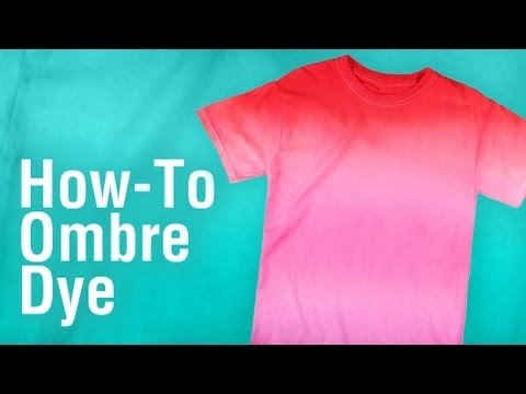 66bc7ca74572c2 DIY Ombre Tie-Dye Technique using Tulip One-Step Dye! - YouTube