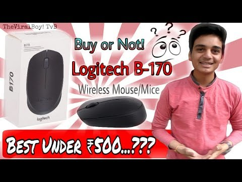 bluetooth-wireless-mouse-🔥-logitech-b170-|-indepth-review-😱-best-under-500-inr-worth-it...🤔tvb!