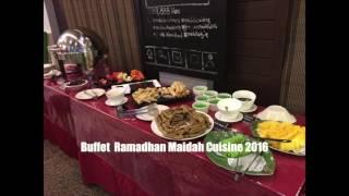 Maidah Buffet Ramadhan 2016