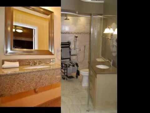 Good DIY Handicapped bathroom design ideas - YouTube