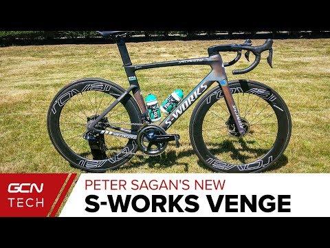 Peter Sagan's S-Works Venge Disc | Tour de France 2019 Pro Bike