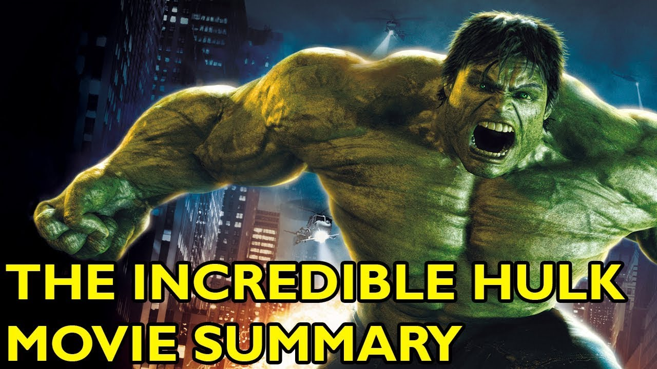 The Incredible Hulk Full Movie English Youtube Watch The
