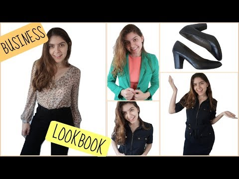 BUSINESS / OFFICE FASHION LOOKBOOK | Professional Outfit Ideas! :)