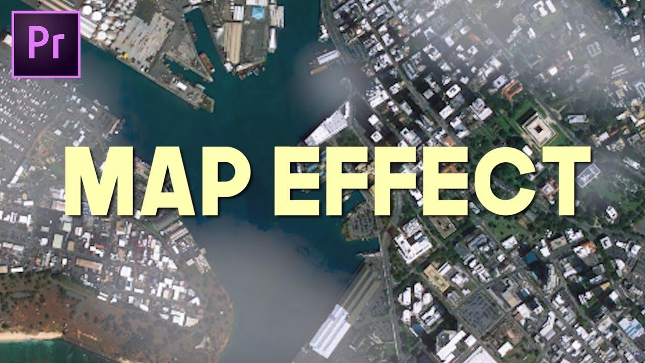 Map/Fake Drone Effect (Andreas Hem Premiere Pro Tutorial)