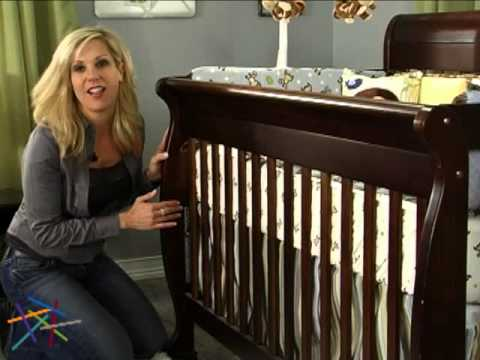 DaVinci Kalani 4 in 1 Convertible Sleigh Crib Collection - Product Review Video