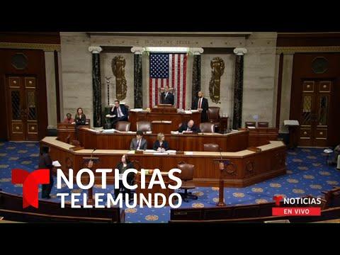 El Congreso vota para limitar los poderes de guerra del presidente Donald Trump | Noticias Telemundo