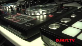 Pioneer DDJ-SB DJ Midi Controller with Serato DJ Intro with DJkit.tv
