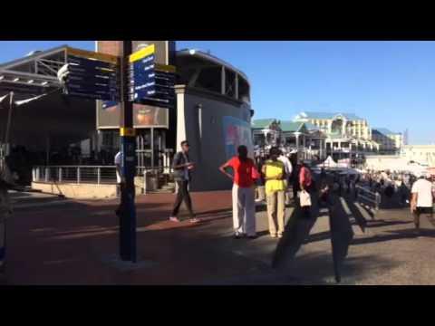 Bailes típicos en Ciudad del Cabo II - Sudáfrica