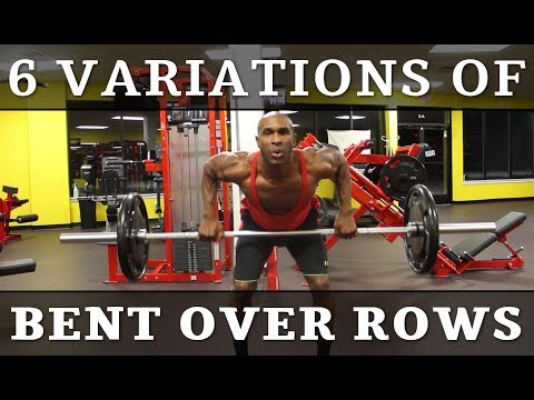 6 VARIATIONS of BENT OVER ROWS: Advanced Back Workout Brown Hornet Fitness