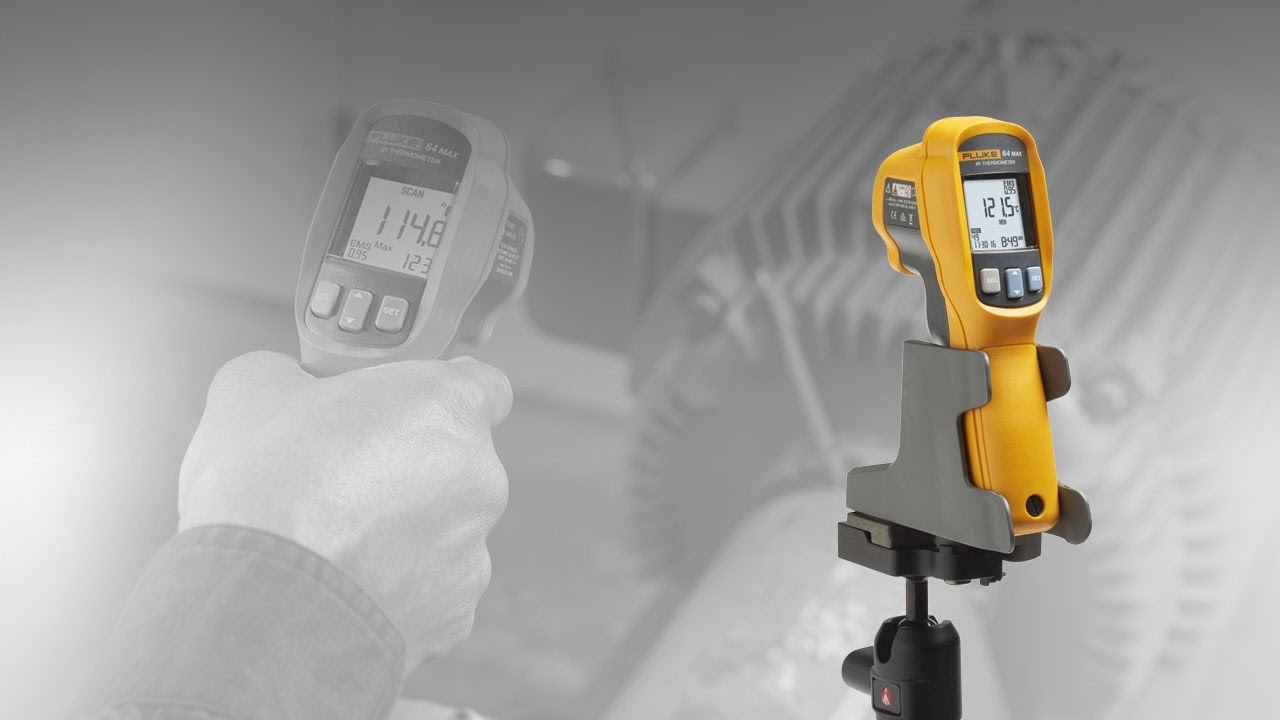 Introducing The New 64 Max Infrared Thermometer Youtube Fluke 59 Corporation