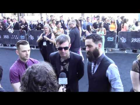 Interview: Karnivool on the ARIA Awards 2013 Black Carpet