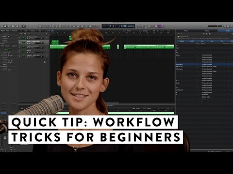Quick Tip: Workflow tips for beginners