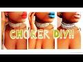 Choker DIY!!!