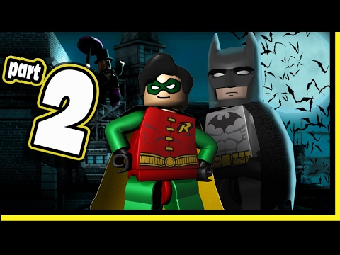 Lego Batman Video Game DS Walkthrough - Part 2 Ice Cream Factory Mr. FREEZE