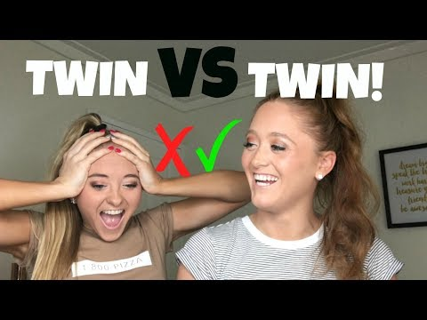 Thumbnail: Who's the better Twin? - Catagories!