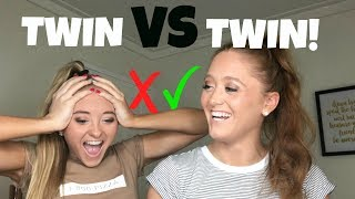 Who's the better Twin?  | The Rybka Twins