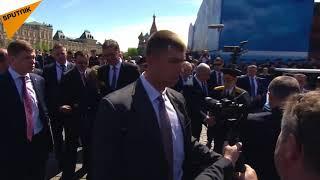 Vladimir Putin'in korumaları gaziye engel olunca Devlet Başkanı duruma müdahale etti