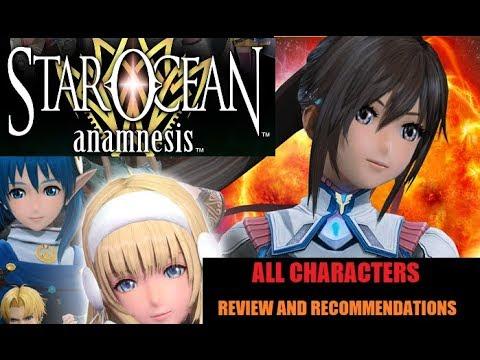 All Star Ocean Anamnesis Characters