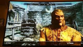 Первый раз играем в Skyrim первый квест выйти на свободу часть 1 Elder Scrolls V