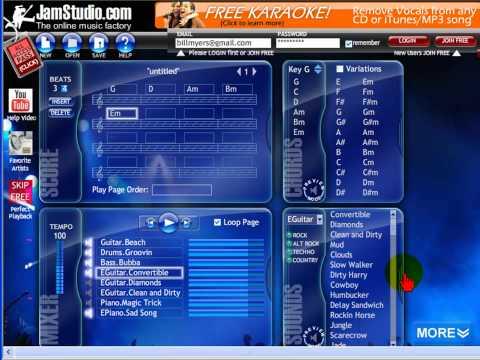 Create music with JamStudio