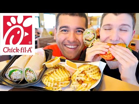 We Just Got Married • Our Wedding Day At Chick-Fil-A • MUKBANG