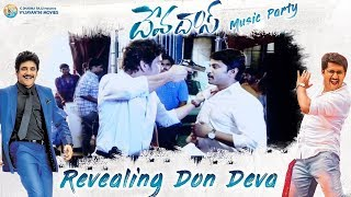 Revealing Don Deva - Akkineni Nagarjuna | #Devadas Music Party