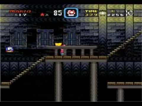 Super Mario World: Donut plains: Ghost Houst + secret Ghost house 1 & 2