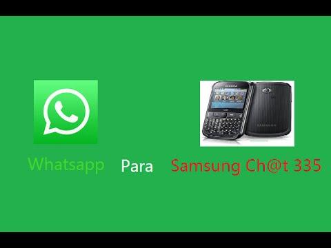 Descargar Whatsapp Para Samsung Ch@t 355