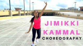 Jimikki Kammal Dance Choreography I Velipadinte Pusthakam I Monica Vaswani